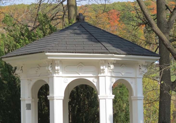 Gazebo Built Under Trees