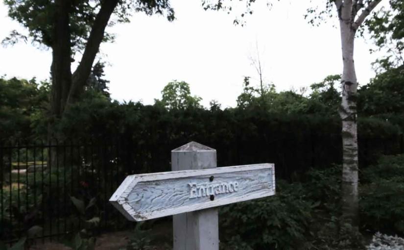 Panneau d'entrée en bois