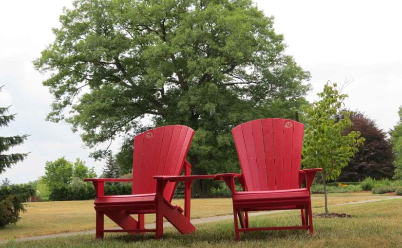 Landscape Design Resin Chairs