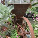 ایده های باغ و اشیاء عتیقه با