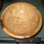 Cuenco de madera de abedul