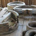 عجلات الخشب البكرات