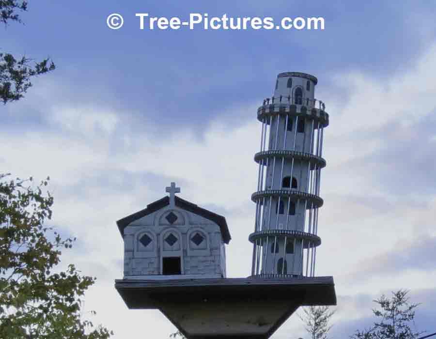 Birdhouses Leaning Tower Of Pisa Bird House