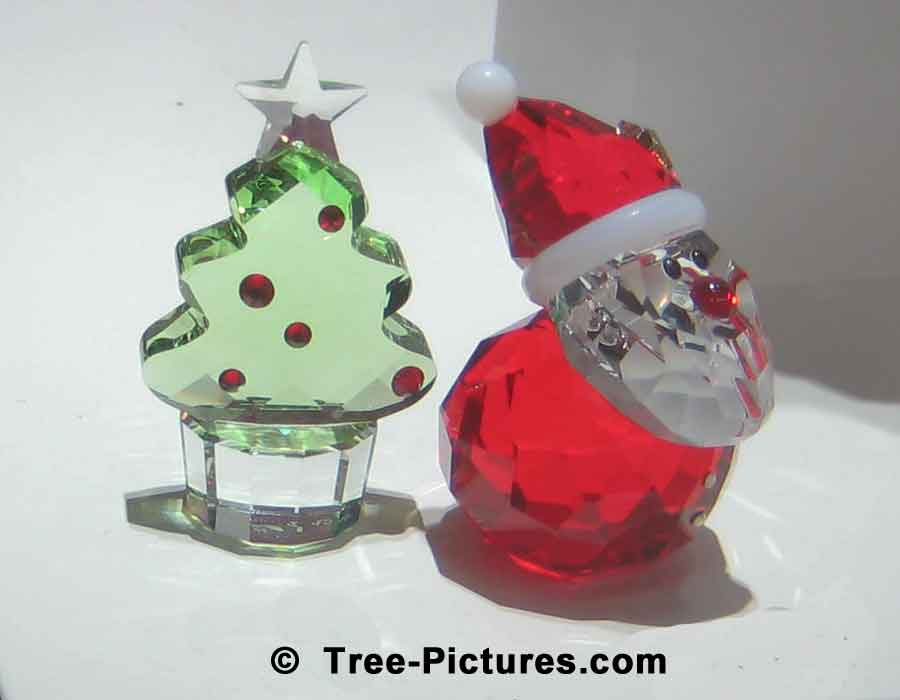 swarovski crystal christmas ornaments - Crystal Christmas Decorations