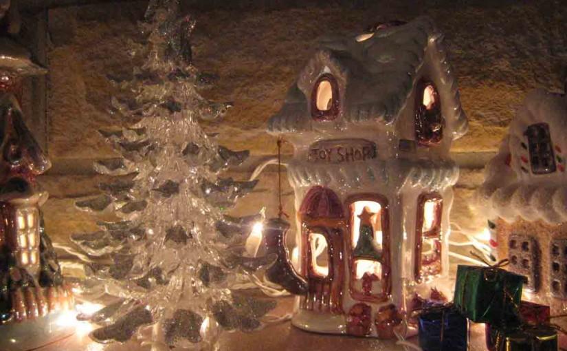 Décoration de Noël sur Cheminée