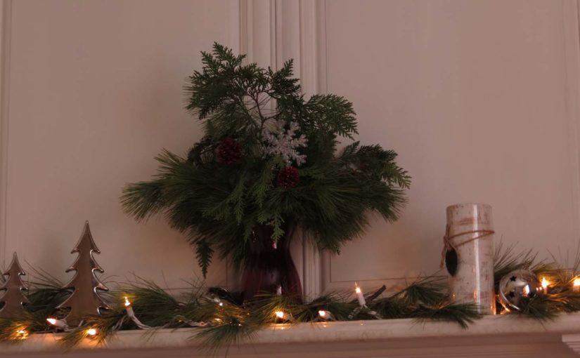 Pine og Cedar Tree Decor