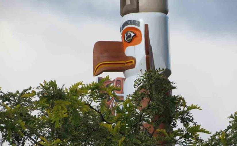 Wood Totem Pole