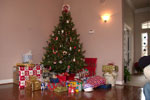 Xmas Tree With Presents & Gifts